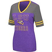 Colosseum Women's LSU Tigers Purple Cuba Libre V-Neck T-Shirt