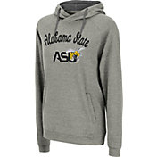 Colosseum Women's Alabama State Hornets Grey Pullover Hoodie