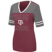 Colosseum Women's Texas A&M Aggies Maroon Cuba Libre V-Neck T-Shirt