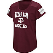 Colosseum Women's Texas A&M Aggies Maroon Football Dolman T-Shirt