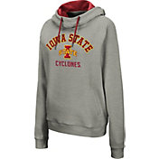Colosseum Women's Iowa State Cyclones Grey Pullover Hoodie