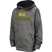 Colosseum Youth Norfolk State Spartans Grey Pullover Hoodie