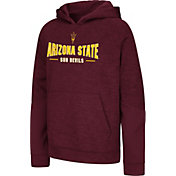 Colosseum Youth Arizona State Sun Devils Maroon Pods Pullover Fleece Hoodie