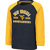 Colosseum Toddler West Virginia Mountaineers Blue Squidward Long Sleeve T-Shirt