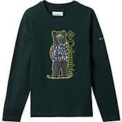 Columbia Boys' Naturally Wild Graphic Long Sleeve T-Shirt