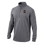 Columbia Men's Los Angeles FC Soar Quarter-Zip Grey Pullover Shirt