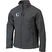 Columbia Men's Minnesota United FC Gray Ascender Softshell Jacket