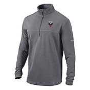 Columbia Men's D.C. United Soar Quarter-Zip Grey Pullover Shirt