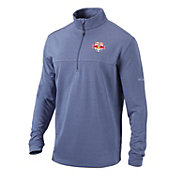 Columbia Men's New York Red Bulls Soar Quarter-Zip Navy Pullover Shirt