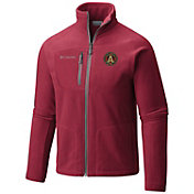 Columbia Men's Atlanta United Fast Trek II Red Full-Zip Jacket