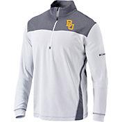Columbia Men's Baylor Bears Omni-Wick Standard Quarter-Zip White Shirt