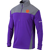 Columbia Men's Clemson Tigers Regalia Omni-Wick Standard Quarter-Zip Shirt