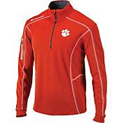 Columbia Men's Clemson Tigers Orange Shotgun Quarter-Zip Shirt