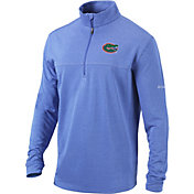 Columbia Men's Florida Gators Blue Omni-Wick Soar Half-Zip Pullover Shirt