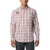Columbia Men's Florida State Seminoles Garnet Long Sleeve Tamiami Shirt