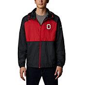Columbia Men's Ohio State Buckeyes Flash Forward Full-Zip Black Jacket