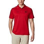 Columbia Men's Ohio State Buckeyes Scarlet Skiff Cast Performance Polo
