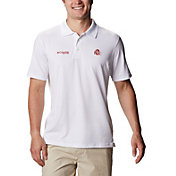 Columbia Men's Ohio State Buckeyes Skiff Cast Performance White Polo