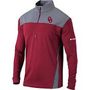 Columbia Men's Oklahoma Sooners Crimson Omni-Wick Standard Quarter-Zip Shirt