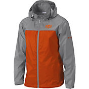 Columbia Men's Oklahoma State Cowboys Grey/Orange Glennaker Lake II Jacket