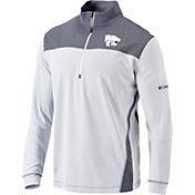 Columbia Men's Kansas State Wildcats Omni-Wick Standard Quarter-Zip White Shirt