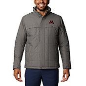 Columbia Men's Minnesota Golden Gophers Grey Ridgestone Full-Zip Jacket