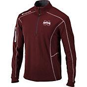 Columbia Men's Mississippi State Bulldogs Maroon Shotgun Quarter-Zip Shirt