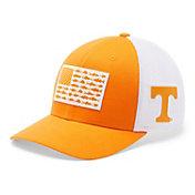 Columbia Men's Tennessee Volunteers Tennessee Orange PFG Fish Flag Mesh Fitted Hat