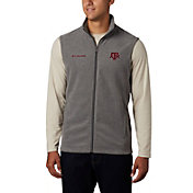 Columbia Men's Texas A&M Aggies Grey Flanker Full-Zip Fleece Vest II