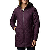Columbia Women's Copper Crest Insulated Long Hooded Jacket