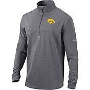 Columbia Men's Iowa Hawkeyes Black Omni-Wick Soar Half-Zip Pullover Shirt
