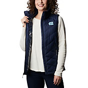 Columbia Women's North Carolina Tar Heels Navy Heavenly Full-Zip Jacket