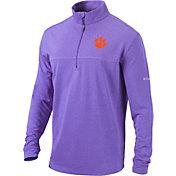 Columbia Men's Clemson Tigers Regalia Omni-Wick Soar Half-Zip Pullover Shirt