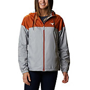 Columbia Women's Texas Longhorns Burnt Orange/Grey Flash Forward Lined Jacket