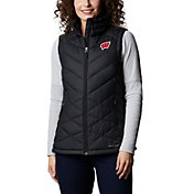 Columbia Women's Wisconsin Badgers Heavenly Full-Zip Black Jacket