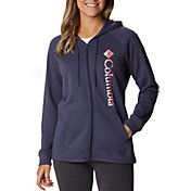 Columbia Women's Logo French Terry Full Zip Hoodie