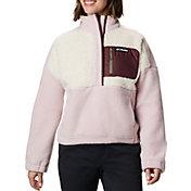 Columbia Women's Lodge Sherpa Full-Zip Sherpa Pullover