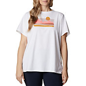 Columbia Women's Sun Trek Short Sleeve Graphic T-Shirt