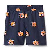 Columbia Youth Auburn Tigers Backcast Printed Performance Blue Shorts