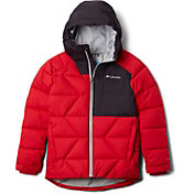 Columbia Youth Winter Powder Quilted Hooded Jacket