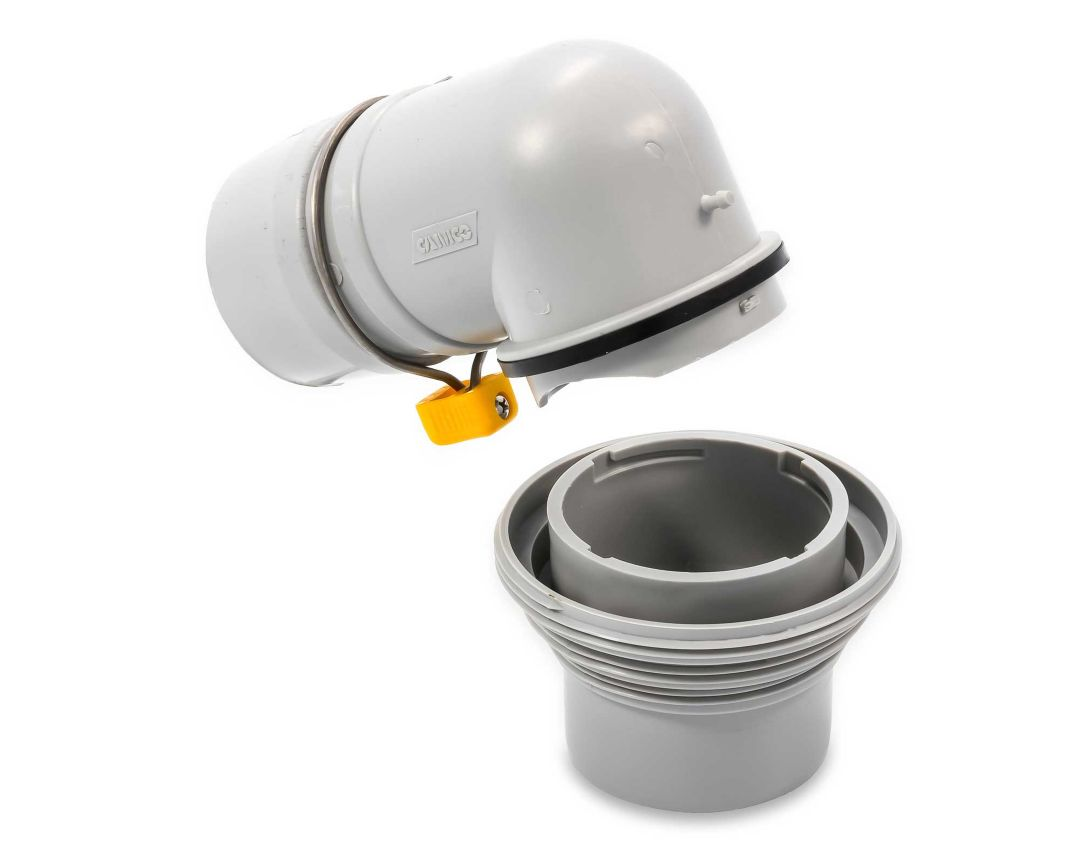Camco Rv Easy Slip 4 In 1 Sewer Adapter Field Stream