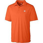 Cutter & Buck Men's Clemson Tigers Orange Northgate Polo