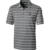 Cutter & Buck Men's Ohio State Buckeyes Forge Black Polo