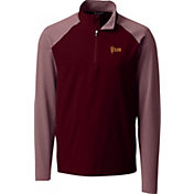 Cutter & Buck Men's Arizona State Sun Devils Maroon Response Half-Zip Shirt