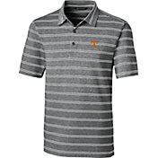 Cutter & Buck Men's Tennessee Volunteers Forge Black Polo