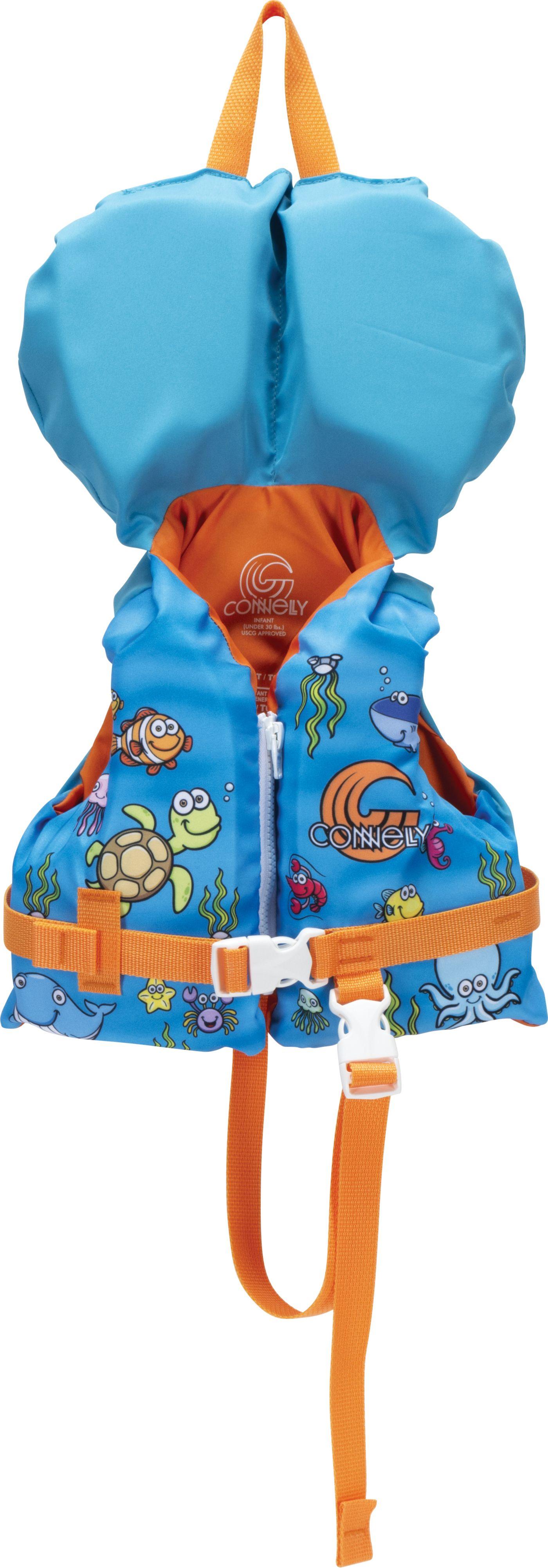 Connelly Boys' Infant Premium Nylon Life Vest