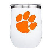 Corkcicle Clemson Tigers 12oz. Stemless Glass