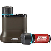 Coleman OneSource Rechargeable 2-Port Battery Charging Station and Battery 2-Pack