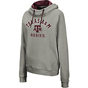 Colosseum Women's Texas A&M Aggies Grey Pullover Hoodie