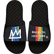 ISlide 2020-21 City Edition Brooklyn Nets Sandals